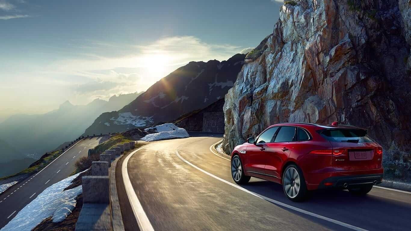 2018 Jaguar F-PACE rear exterior