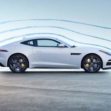 2018 Jaguar F-TYPE side profile