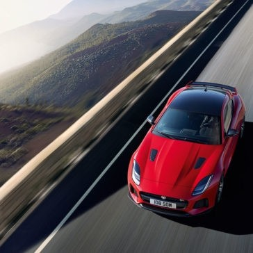 2018 Jaguar F-TYPE on road