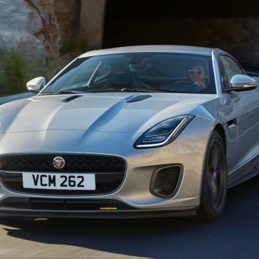 2018 Jaguar F-TYPE exterior