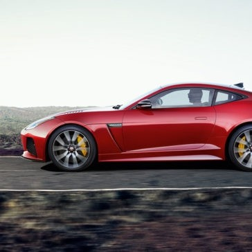 2018 Jaguar F-TYPE exterior side shot