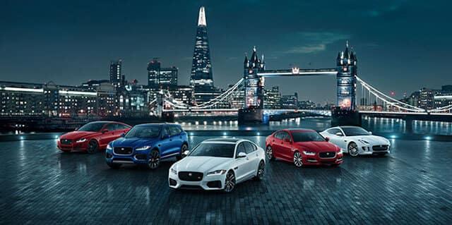 2018 Jaguar Lineup