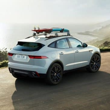 2018 Jaguar E-PACE Near Water
