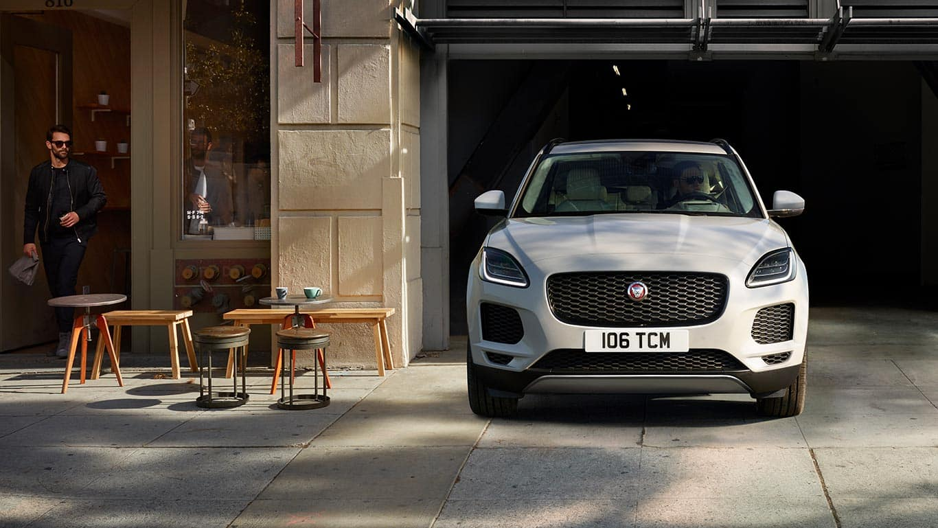 2018 Jaguar E-PACE In Garage