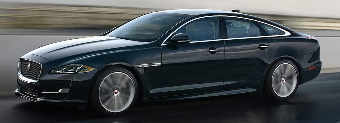 2018 Jaguar XJ Driving
