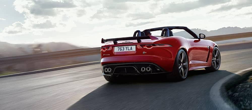 2019 Jaguar F-Type Convertible Rear