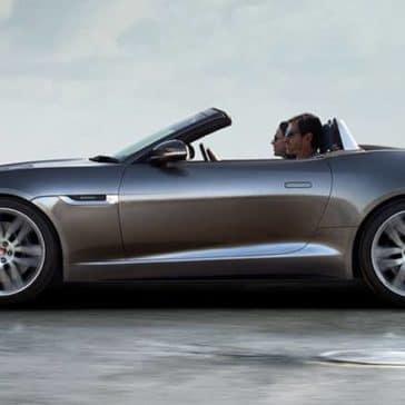 2019 Jaguar F-Type Convertible Side