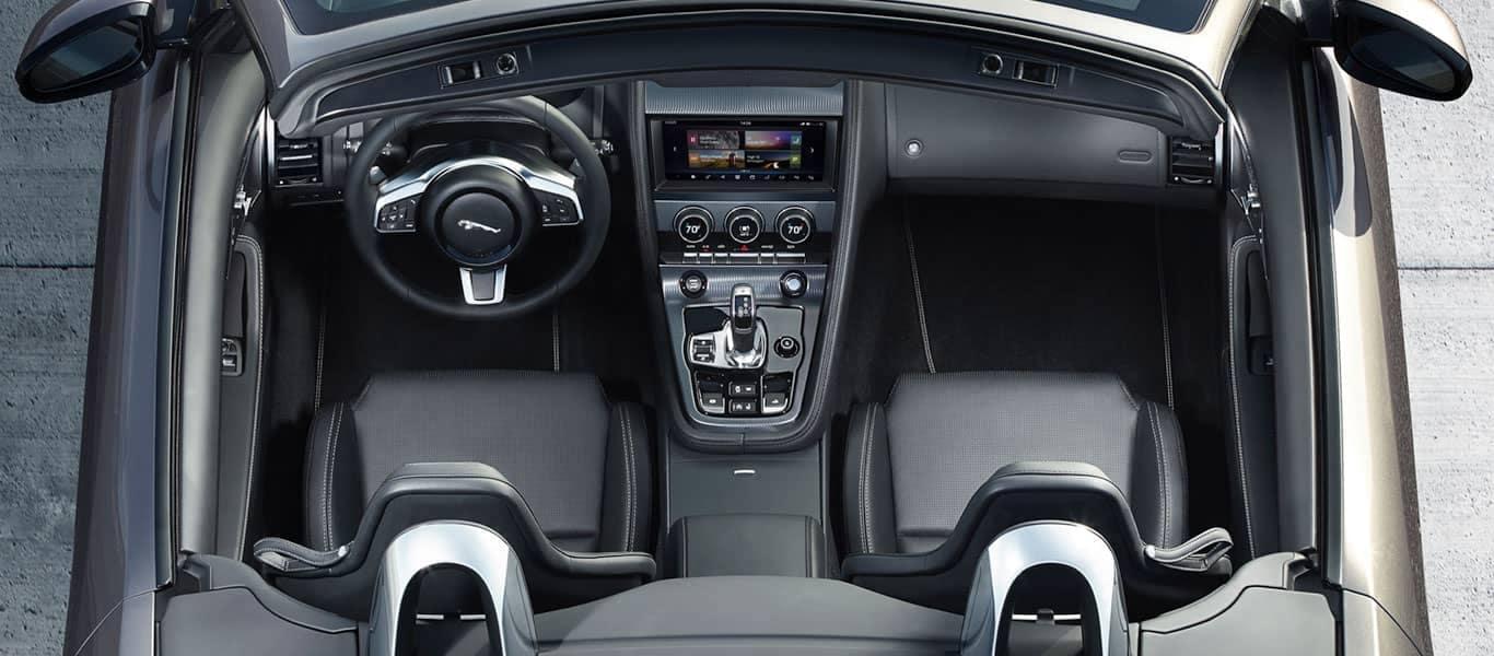 2019 Jaguar F-Type Convertible Dash