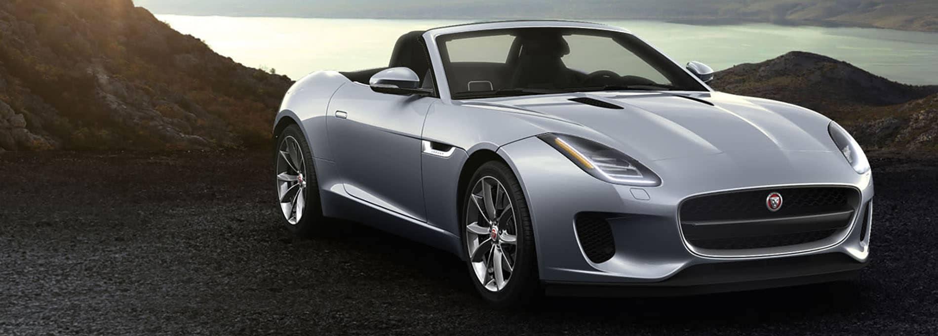 2019 Jaguar F-Type Convertible Parked