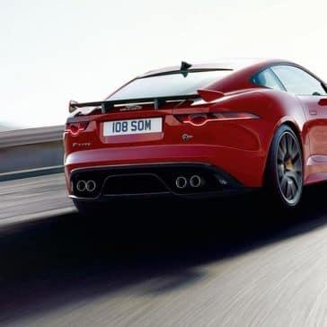 2019 Jaguar F-Type Rear