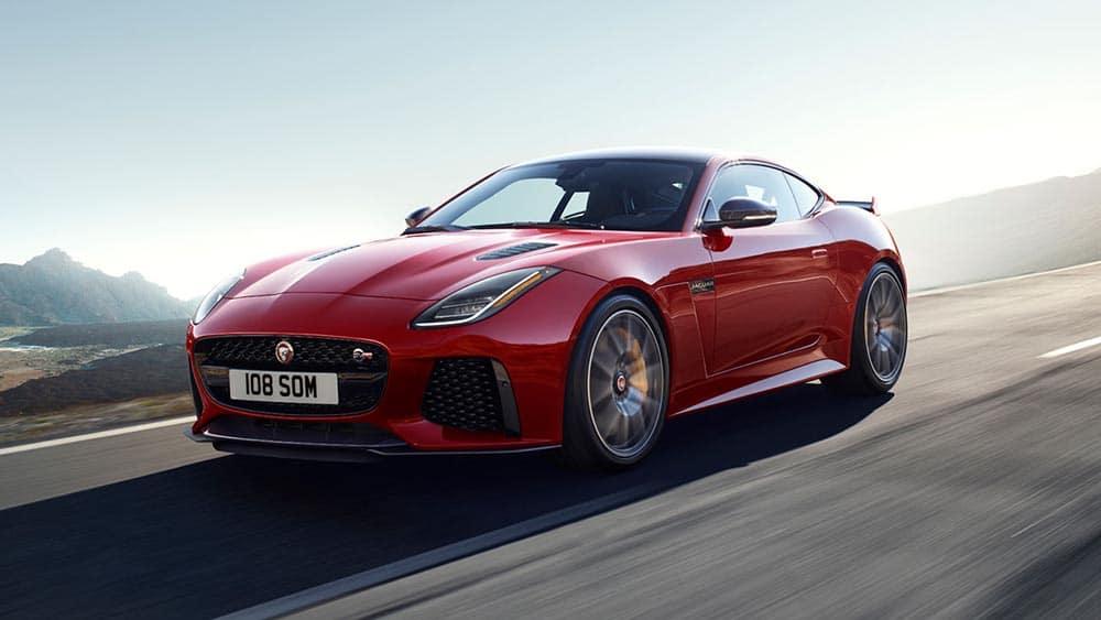 2019 Jaguar F-Type Red