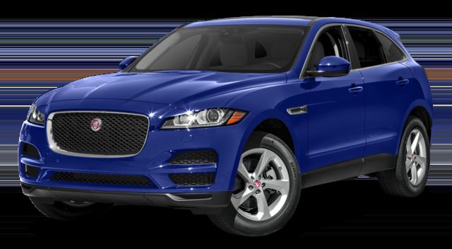 2018 Jaguar F-Pace Blue