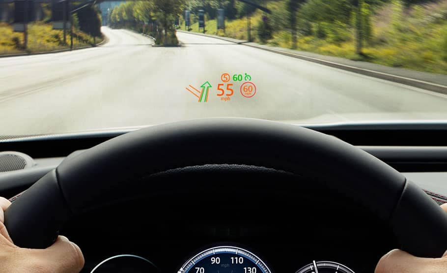 2019 Jaguar F-Pace Heads Up Display