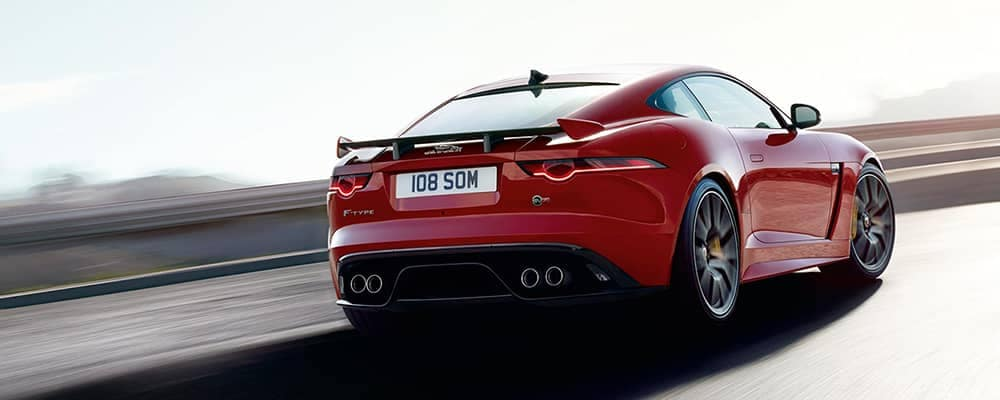 2019 Jaguar F-TYPE Rear