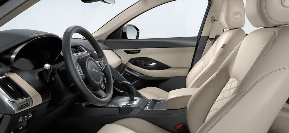 2019 Jaguar E-PACE Cabin