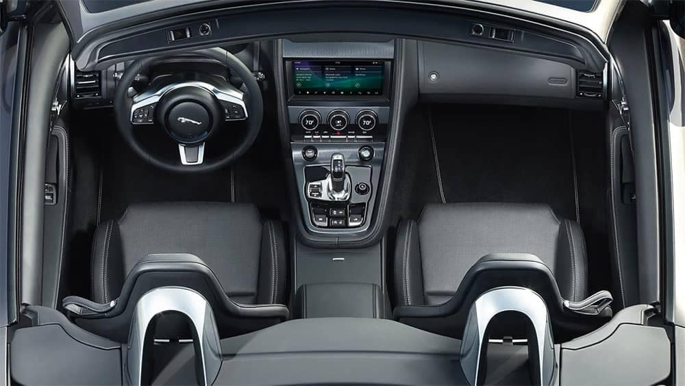 2020-Jaguar-F-TYPE-interior-view-of-center-console