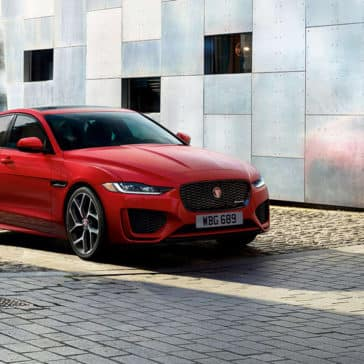 2020 Jaguar XE Red
