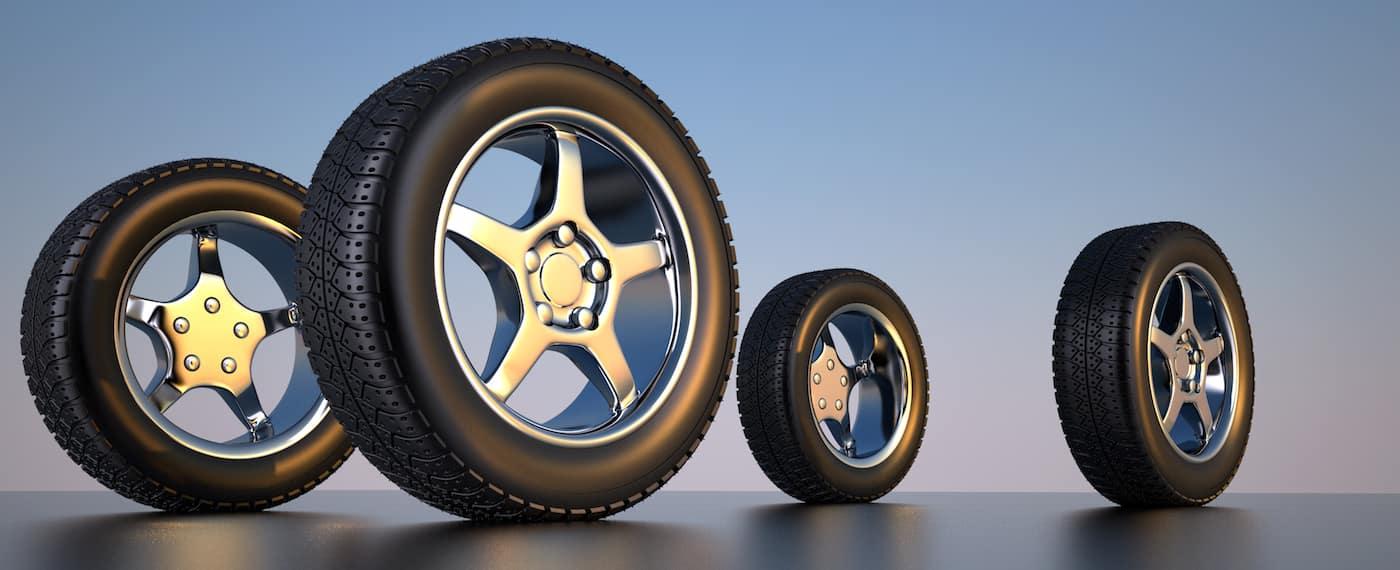 Car wheel tire