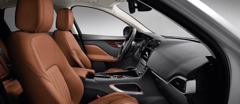 2020 Jaguar F-PACE seating