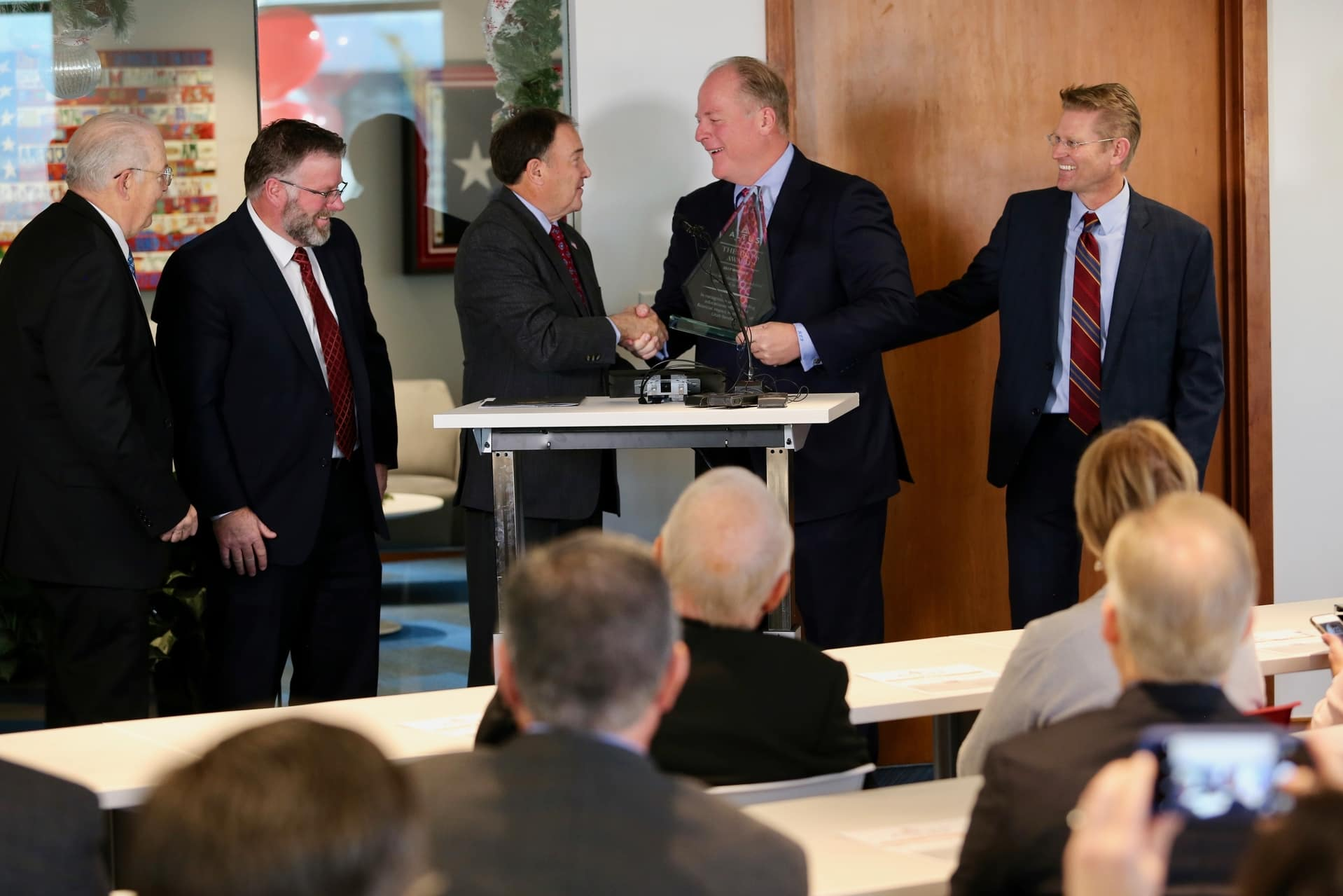 Ken Garff Dodge >> Ken Garff Charity Awarded 2017 Altus Award by Governor Herbert | Ken Garff Auto Group