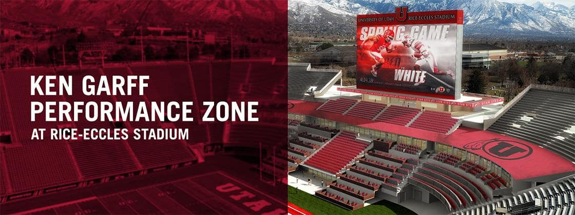 Rice-Eccles Stadium Banner