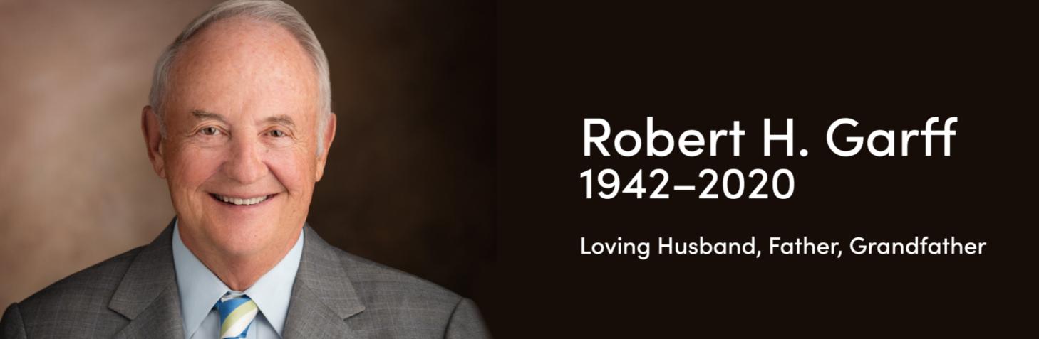 Robert Garff Landing Page