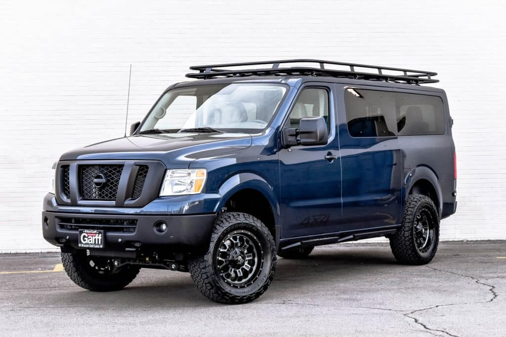 Nv Passenger 4x4 Conversion Ken Garff Nissan Salt Lake City