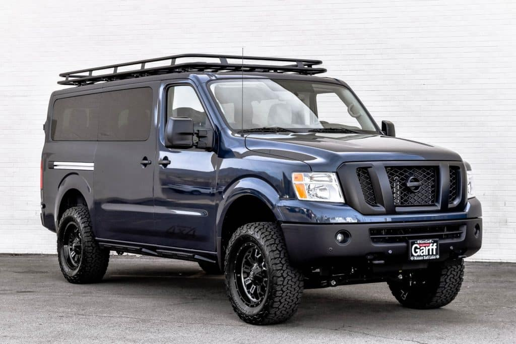 Nissan Nv Review >> NV Passenger 4x4 Conversion | Ken Garff Nissan Salt Lake City