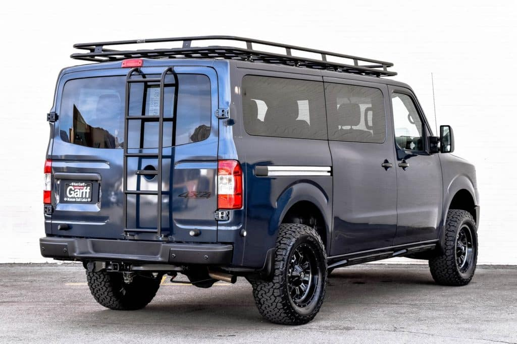 nv passenger 4x4 conversion ken garff nissan salt lake city. Black Bedroom Furniture Sets. Home Design Ideas