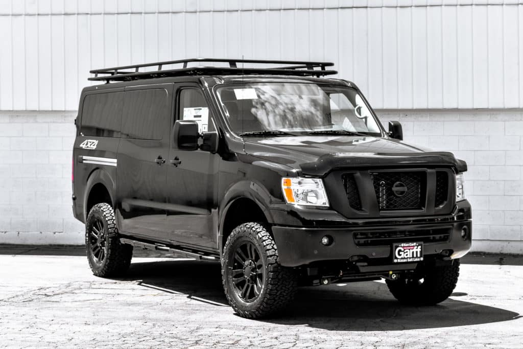 Nv Passenger 4x4 Conversion Ken Garff Nissan Salt Lake City
