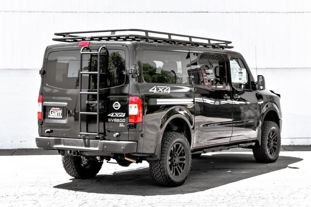 Ken Garff Nissan >> NV Passenger 4x4 Conversions | Ken Garff Nissan Salt Lake City