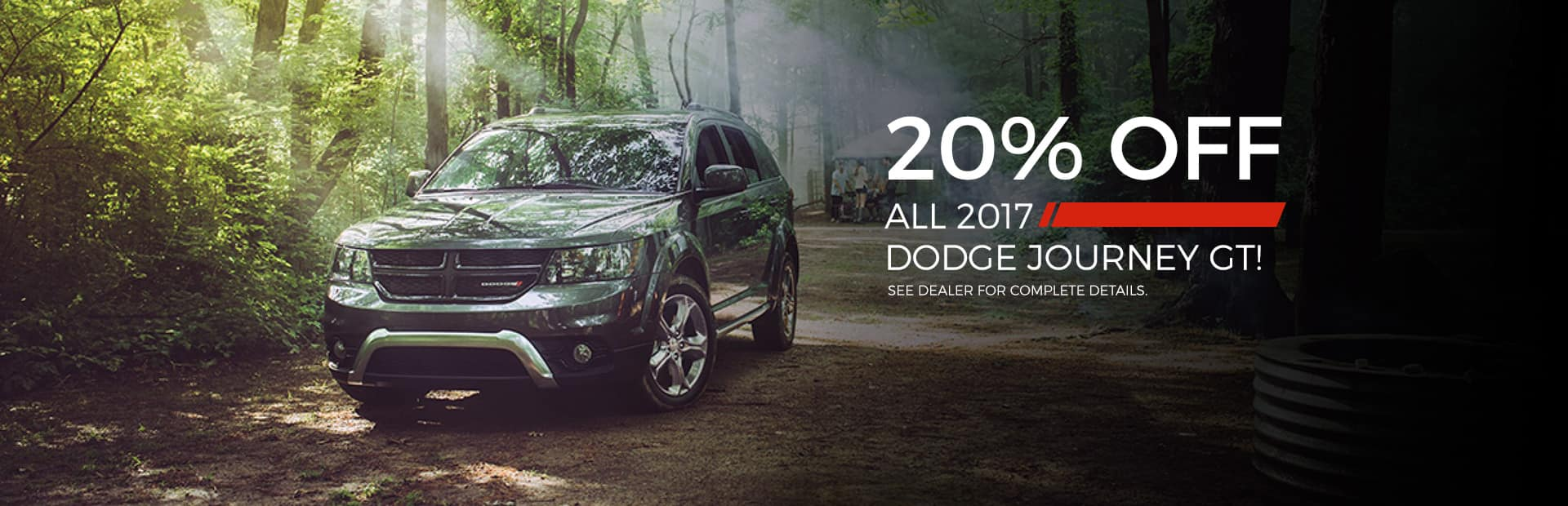 20% off 17 dodge journey