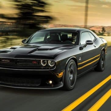 2018 Dodge Challenger Driving