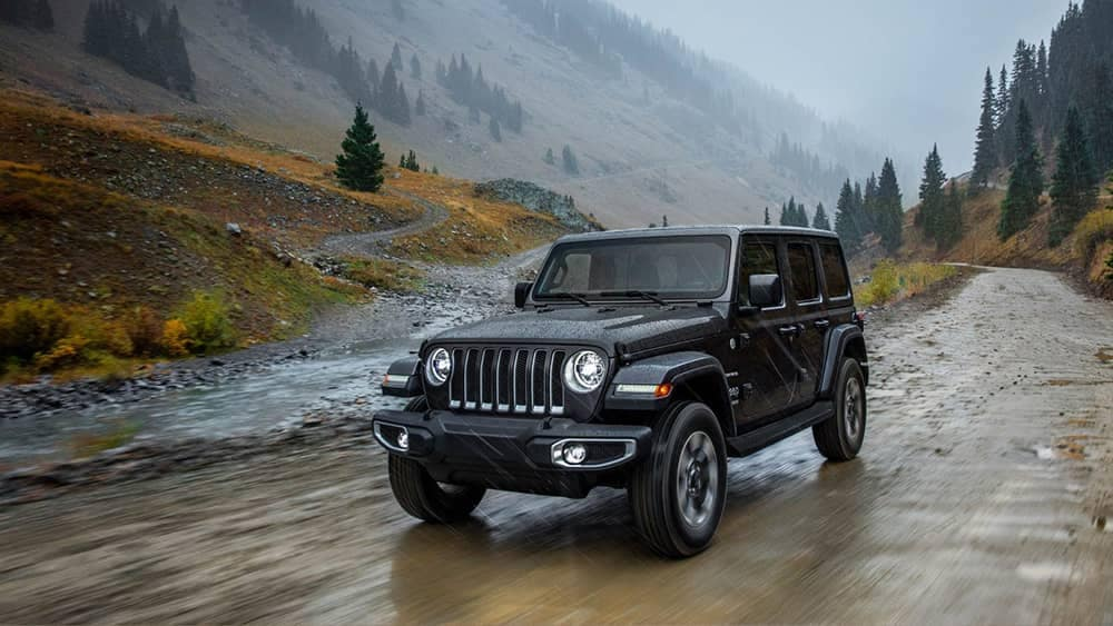 2018 Jeep Wrangler Driving