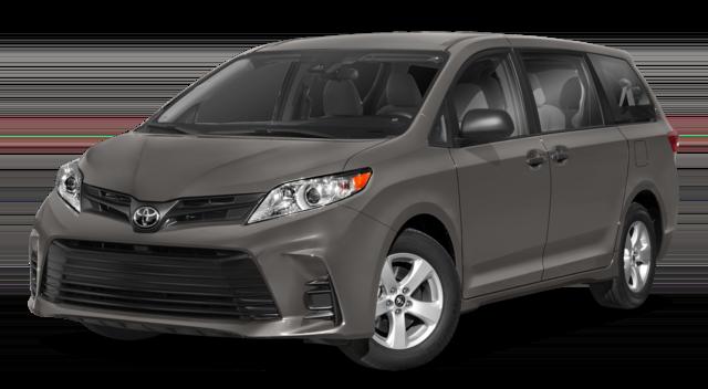 2018 Toyota Sienna Gray
