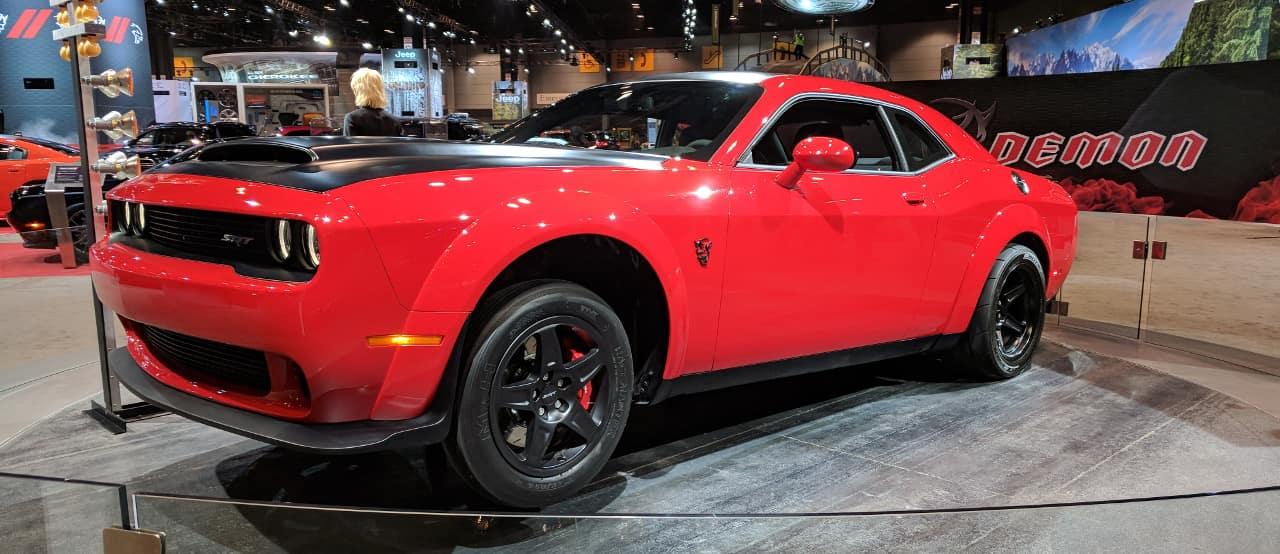 Dodge Challenger SRT Demon at Chicago Auto Show