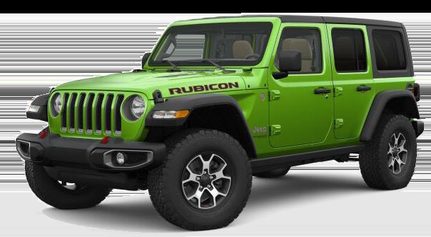 2018 Jeep Wrangler Green