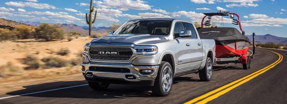 2019 Ram 1500 Utility towing