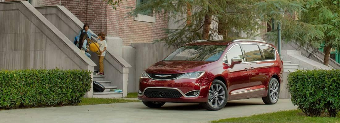 2018 Chrysler Pacifica Parked