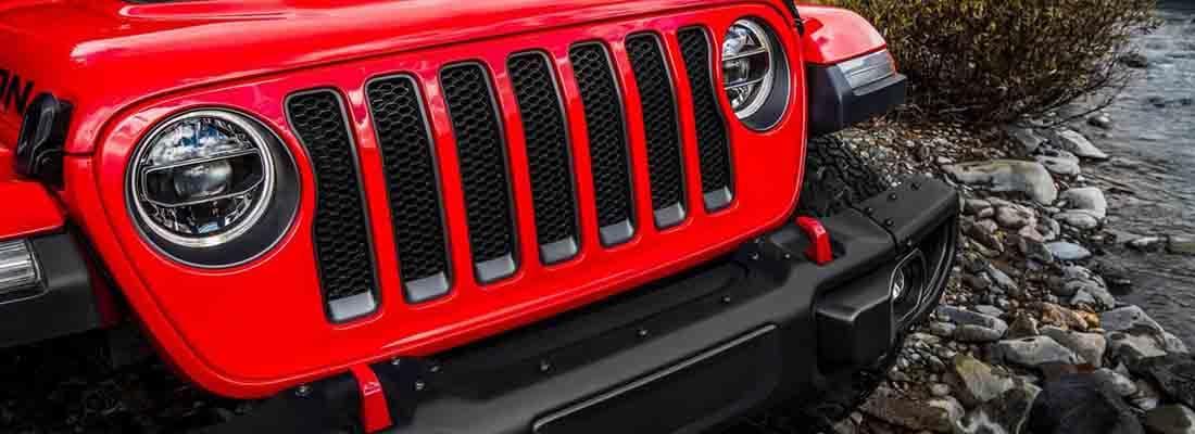 2018 Jeep Wrangler Grill