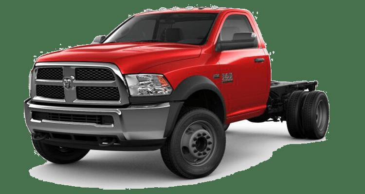 2018 Ram Chasis Cab Red