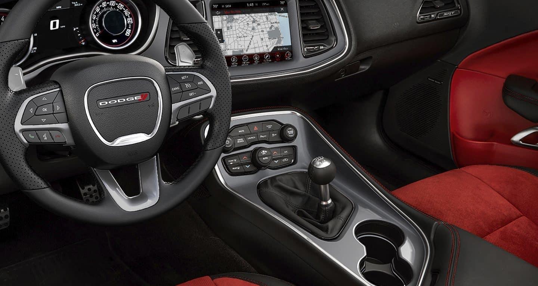 2019 Dodge Challenger front interior