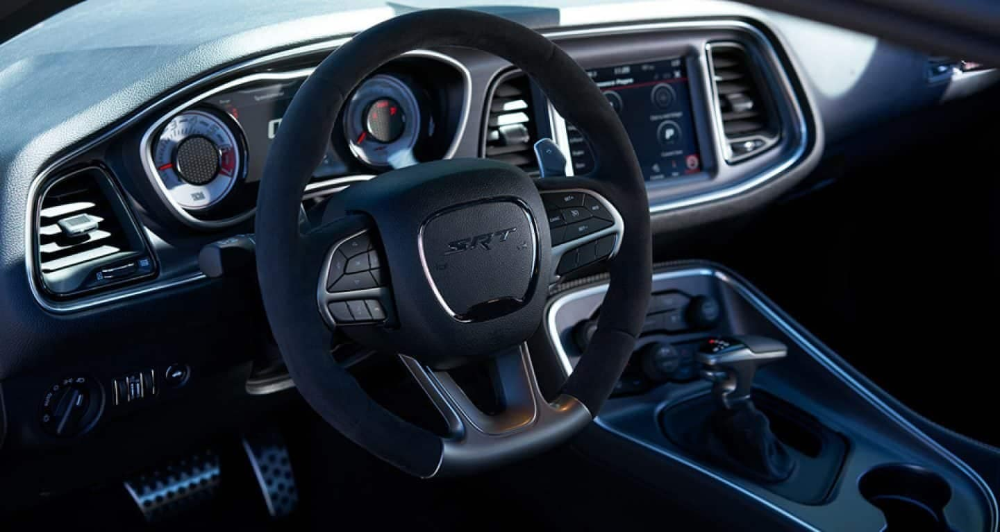 2019 Dodge Challenger steering wheel