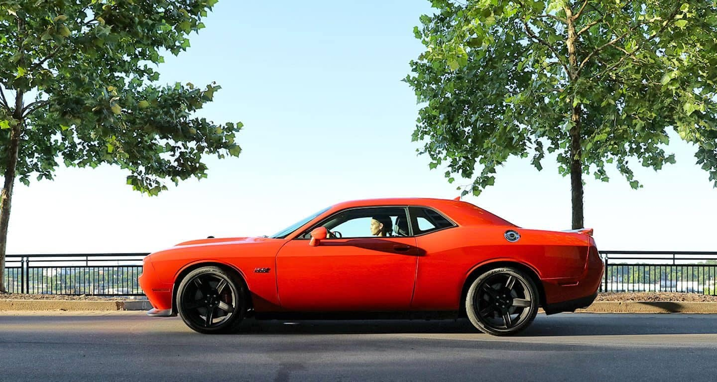 2019 Dodge Challenger side exterior