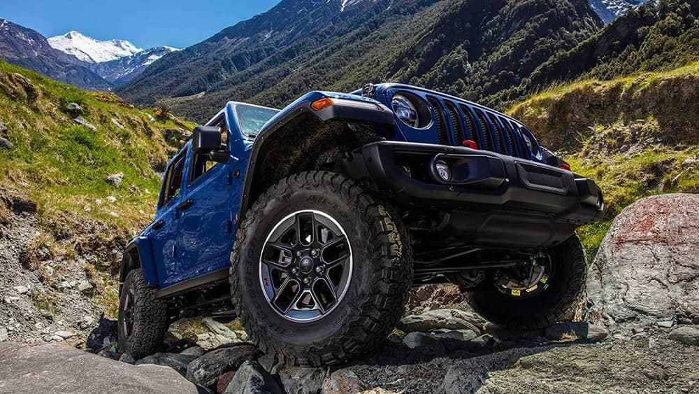 2019 Jeep Wrangler lower angle shot