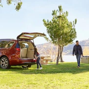 2020 Chrysler Pacifica Open Liftgate