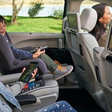 2020 Chrysler Pacifica Rear Entertainment