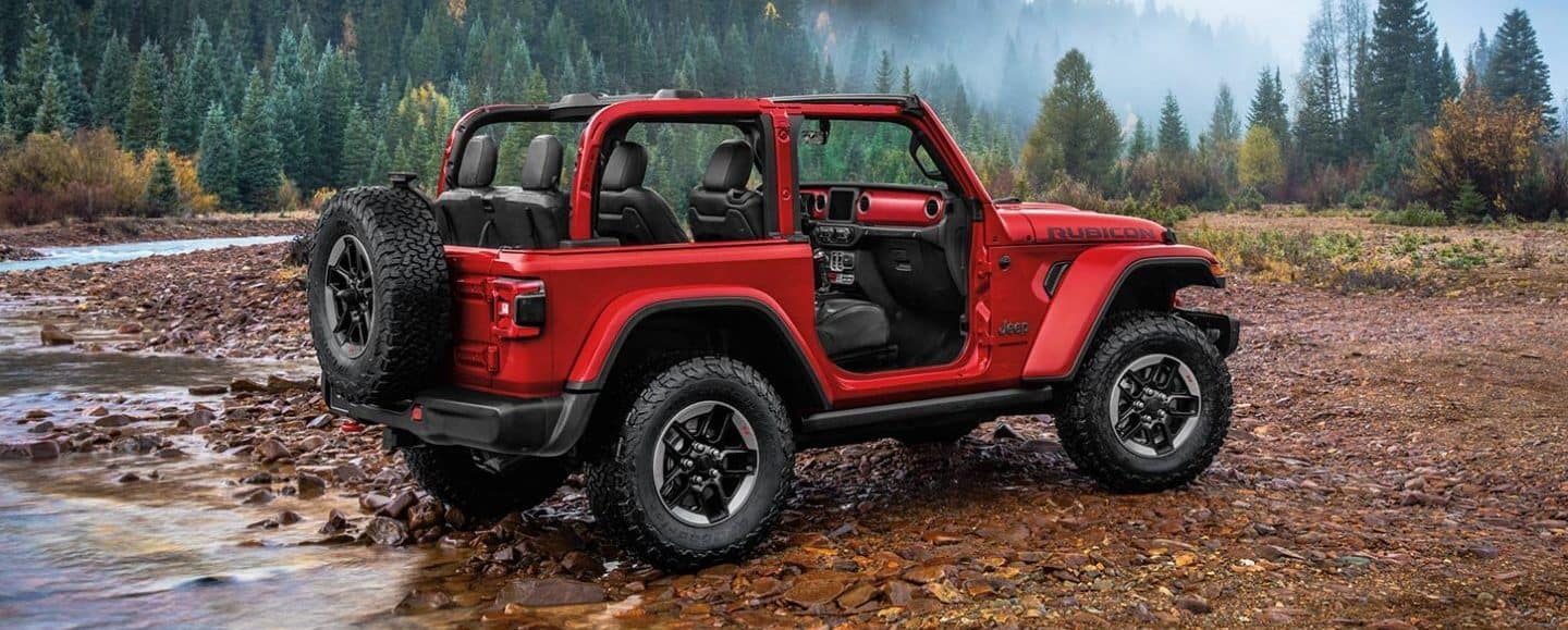 2020 Jeep Wrangler without doors
