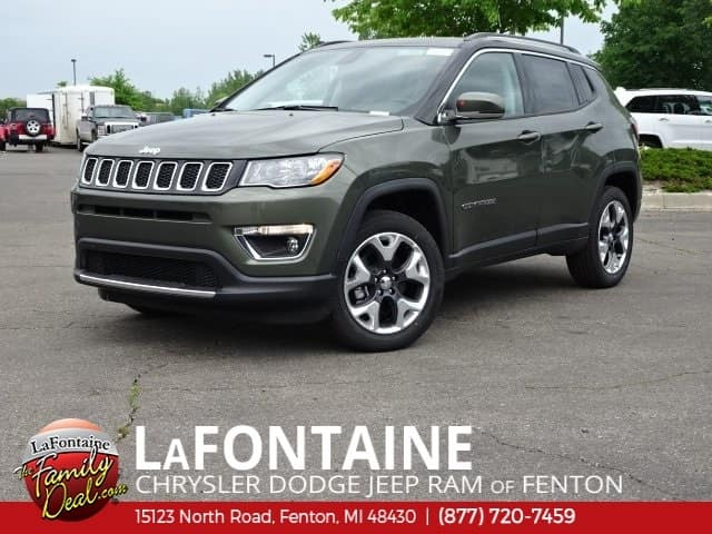 LaFontaine Lease Specials. 2018 Jeep Compass Limited