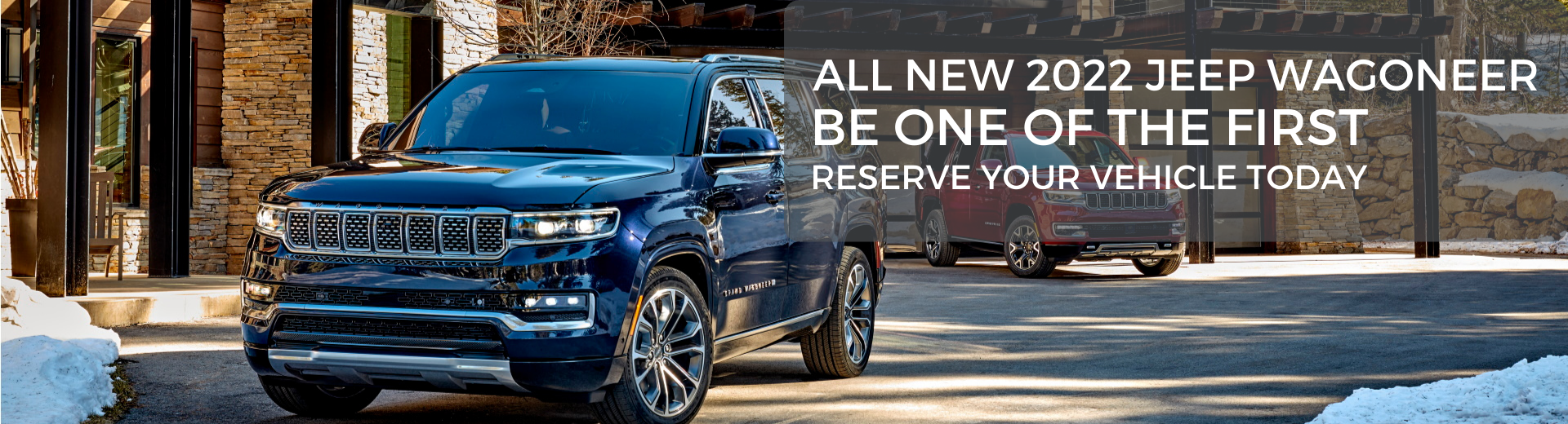 Pre-Order the All New 2022 Jeep Grand Wagoneer